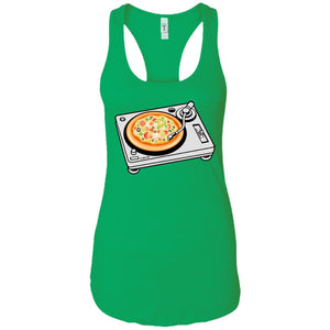 Pizza Scratch - Pizza Art - Women's Racerback Tank Top