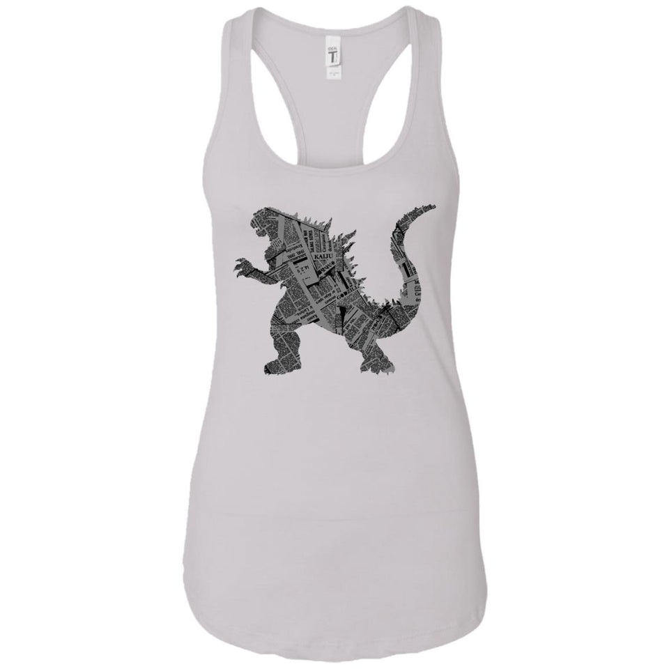 Kaiju - Animal Art - Women's Racerback Tank Top