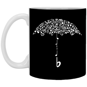 Sound Of Rain - Music Art - 11 oz. White Mug - 85