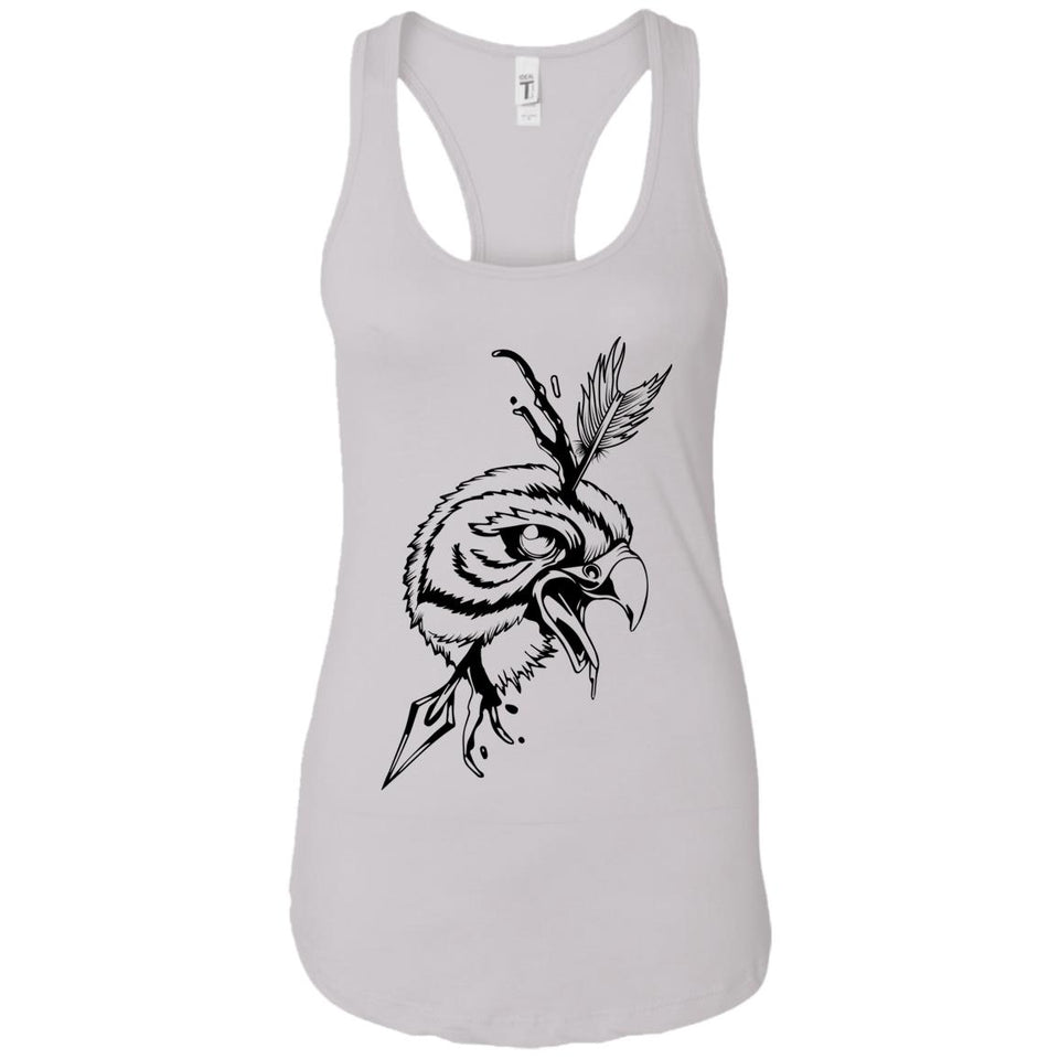 Eagle - Tattoos Art - Women's Racerback Tank Top