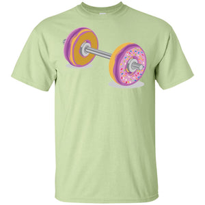 29 - RTP - Caffein Art - Donut Barbell - Gym Art - Adult Unisex T-Shirt