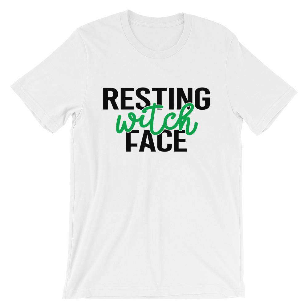 Halloween T-Shirt - Resting Witch Face