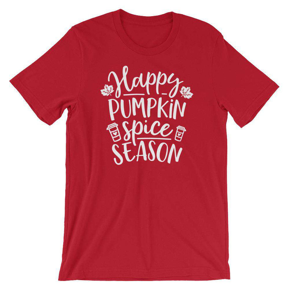 Happy Pumpkin Spice Season - Fall Season T-Shirt