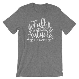 Fall Breeze And Autumn Leaves - Fall Season T-Shirt