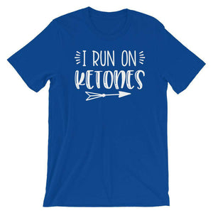 I Run On Ketones - Keto T-Shirt - Adult Unisex T-Shirt