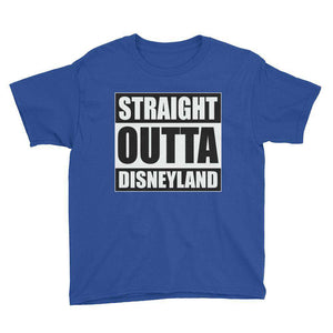 Straight Out Youth T-Shirt - Straight Outta Disneyland