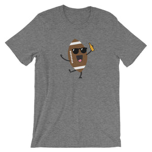 Football Beer - Funny Beer T-Shirt - Adult Unisex T-Shirt