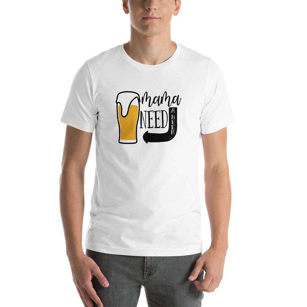 Beer T-Shirt  - Mama Needs A Brew