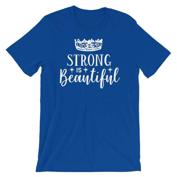 Fitness T-Shirt - Strong Is Beautiful