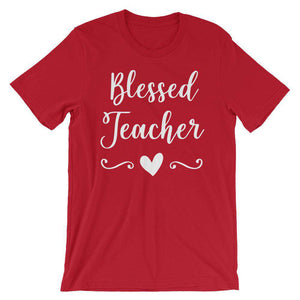Cool Teachers' T-Shirt - Blessed Teacher