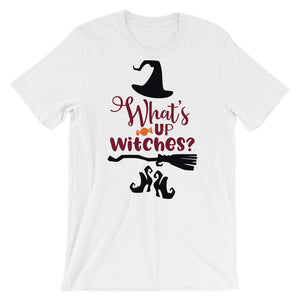 Cute Halloween T-Shirt - What's Up Witches?