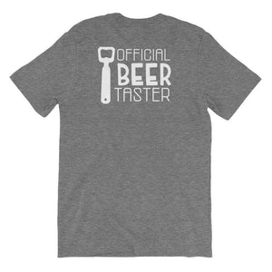 Official Beer Taster - Funny Beer T-Shirt - Adult Unisex T-Shirt