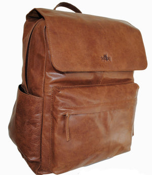 Sherpa Front Pocket Flapover Backpack