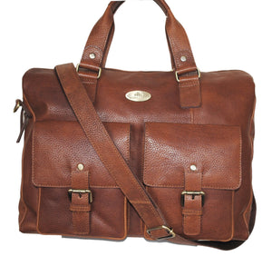 Saxon Overnight Twin Pocket Business Bag