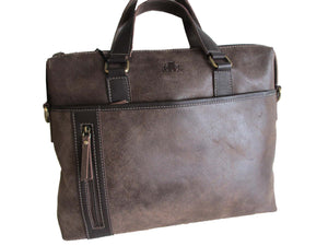 Brushwood Brown Briefcase