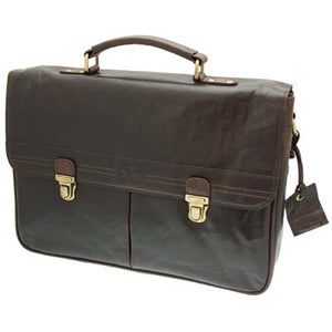 Conquest Classic Brown Briefcase