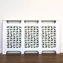 Custom Radiator Covers for Children's Nurseries - Made to Measure Construction Decor
