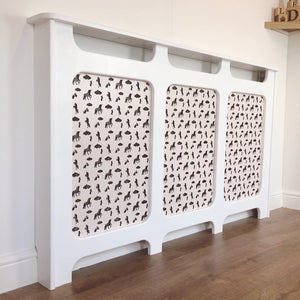 Custom Radiator Covers for Children's Nurseries - Made to Measure Ballerina Bedroom Decor