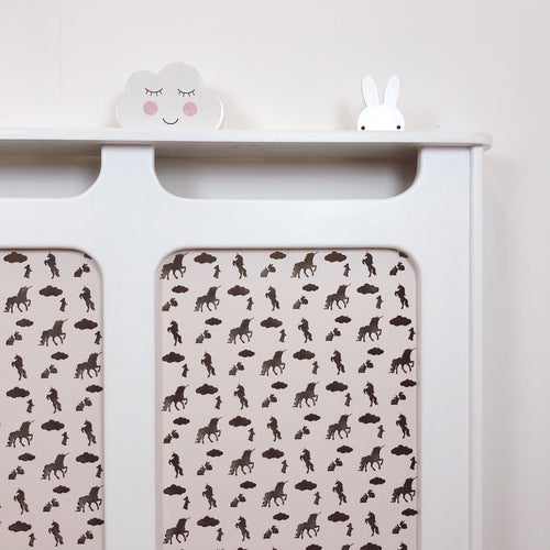Custom Radiator Covers for Children's Nurseries - Made to Measure Unicorn Nursery Decor
