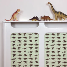 Custom Radiator Covers for Children's Nurseries - Made to Measure Dinosaur Childrens Bedroom Decor