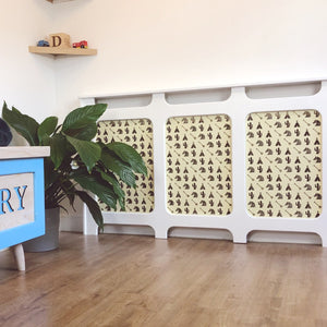 Custom Radiator Covers for Children's Nurseries - Made to Measure Indian Theme Decor