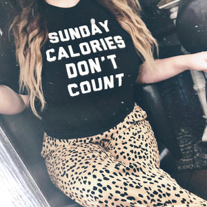 Sunday Calories Don't Count