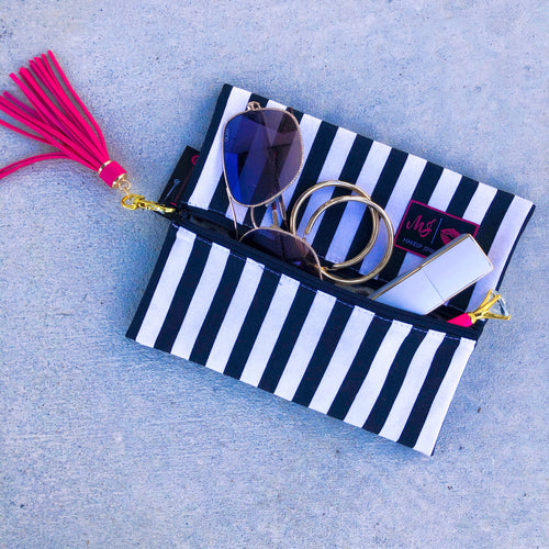 Glam Stripe Bag