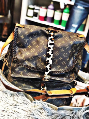 LOUIS Custom Cowhide & Braided Crossbody