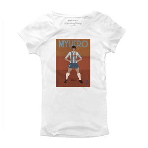 T Shirt donna - Rocco Pagano Vintage - My Hero