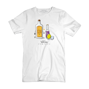 T Shirt uomo - Gin & Tonic - With Love