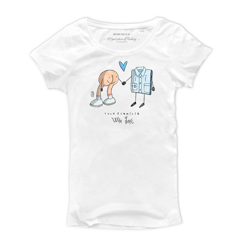 T Shirt donna - Culo & Camicia - With Love