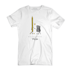 T Shirt uomo - Pencil & Sharpener - With Love