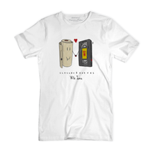 T Shirt uomo - Scottex & VHS - With Love