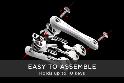 Image of KeySmart Pro. World's Most Advanced & Smartest Key Orgenizer