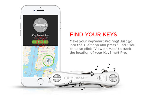 KeySmart Pro. World's Most Advanced & Smartest Key Orgenizer