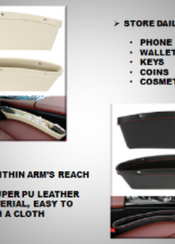 Car Seat Catcher & Storage