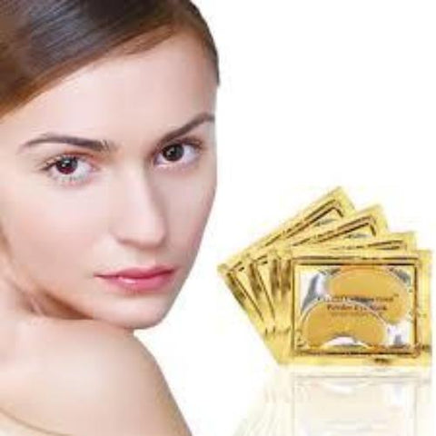 Image of 24k Gold Gel Eye Mask Eyelid Patch Anti Wrinkle Eye Care gold