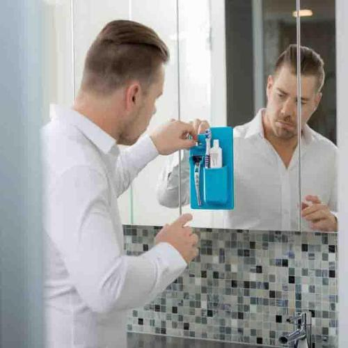 Silicone Bathroom & Shower Organizer