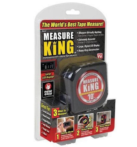 Image of 3 in 1 Measuring Tape. Measure King