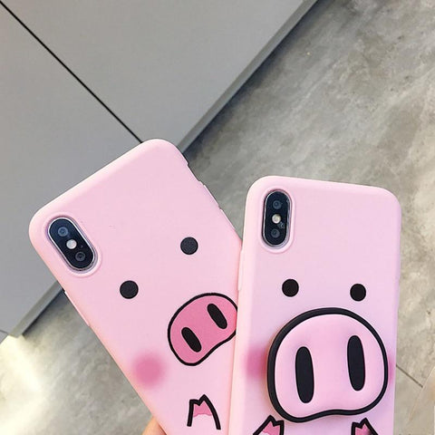 Image of Cute Pig Nose iPhone Case