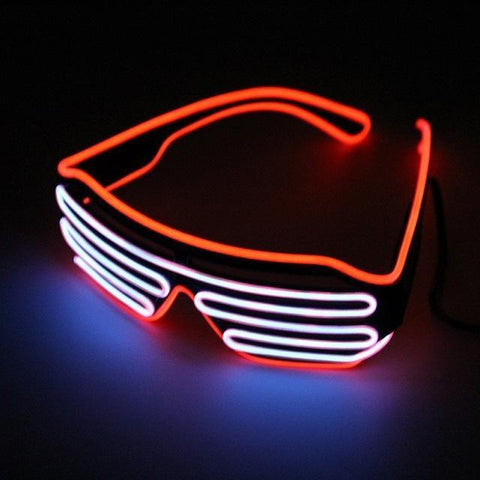 Image of Double Color Glow LED Glasses