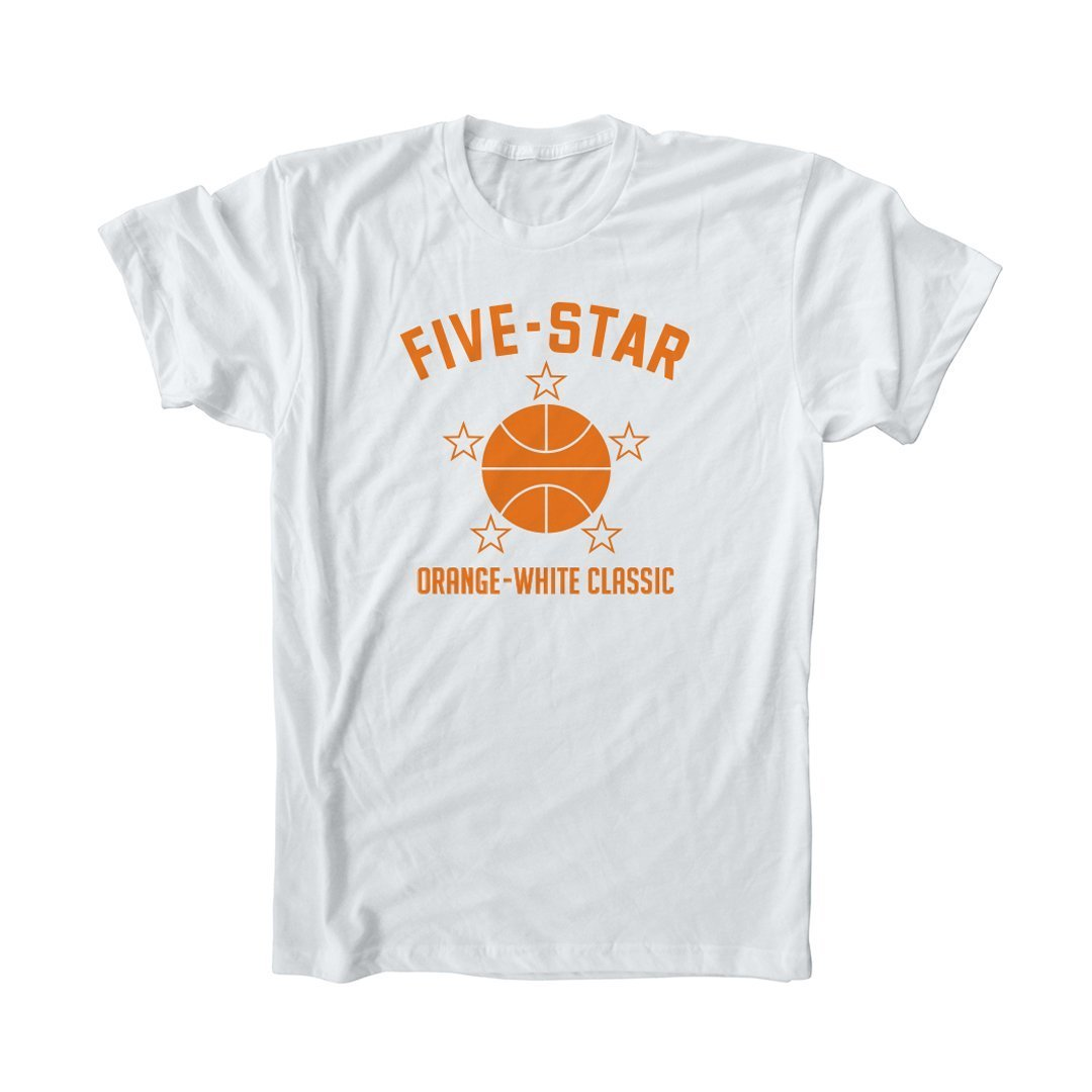 Five-Star Basketball Camp All Star Tee - SLAM