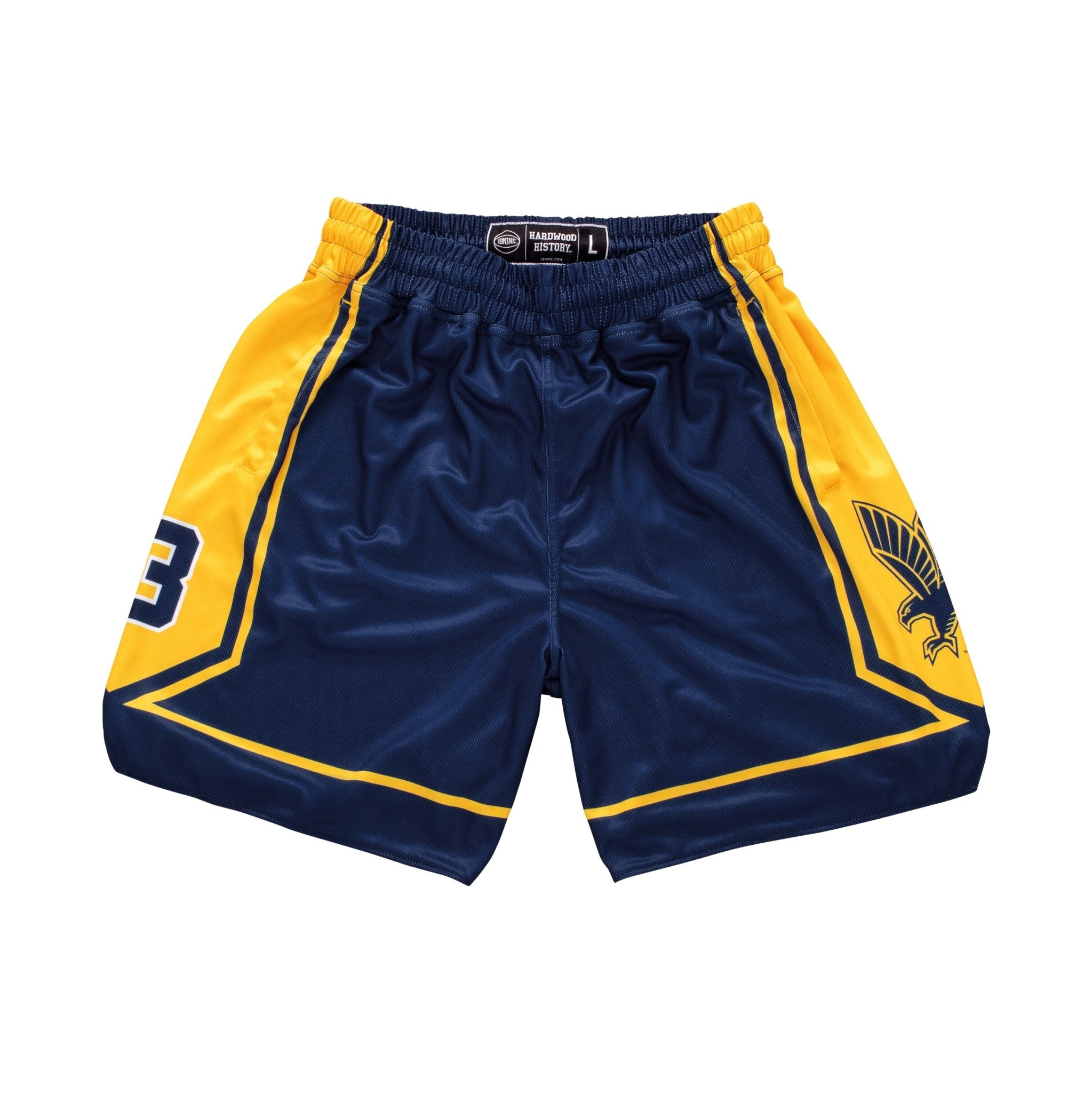 Marquette Golden Eagles 2002-2003 Retro Shorts - SLAM