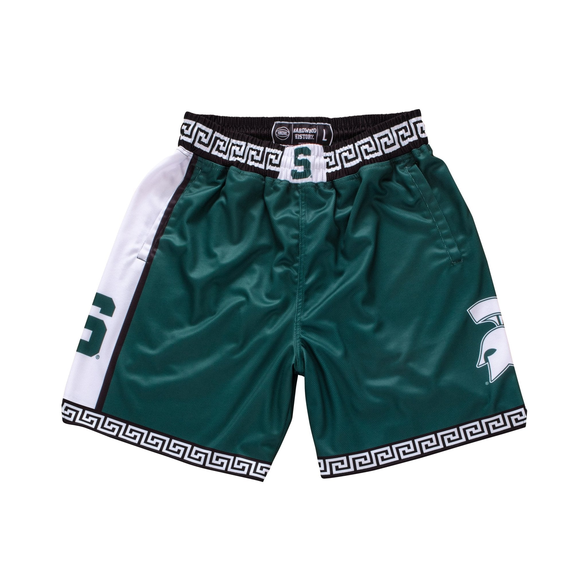 Michigan State Spartans 1999-2000 Retro Shorts - SLAM