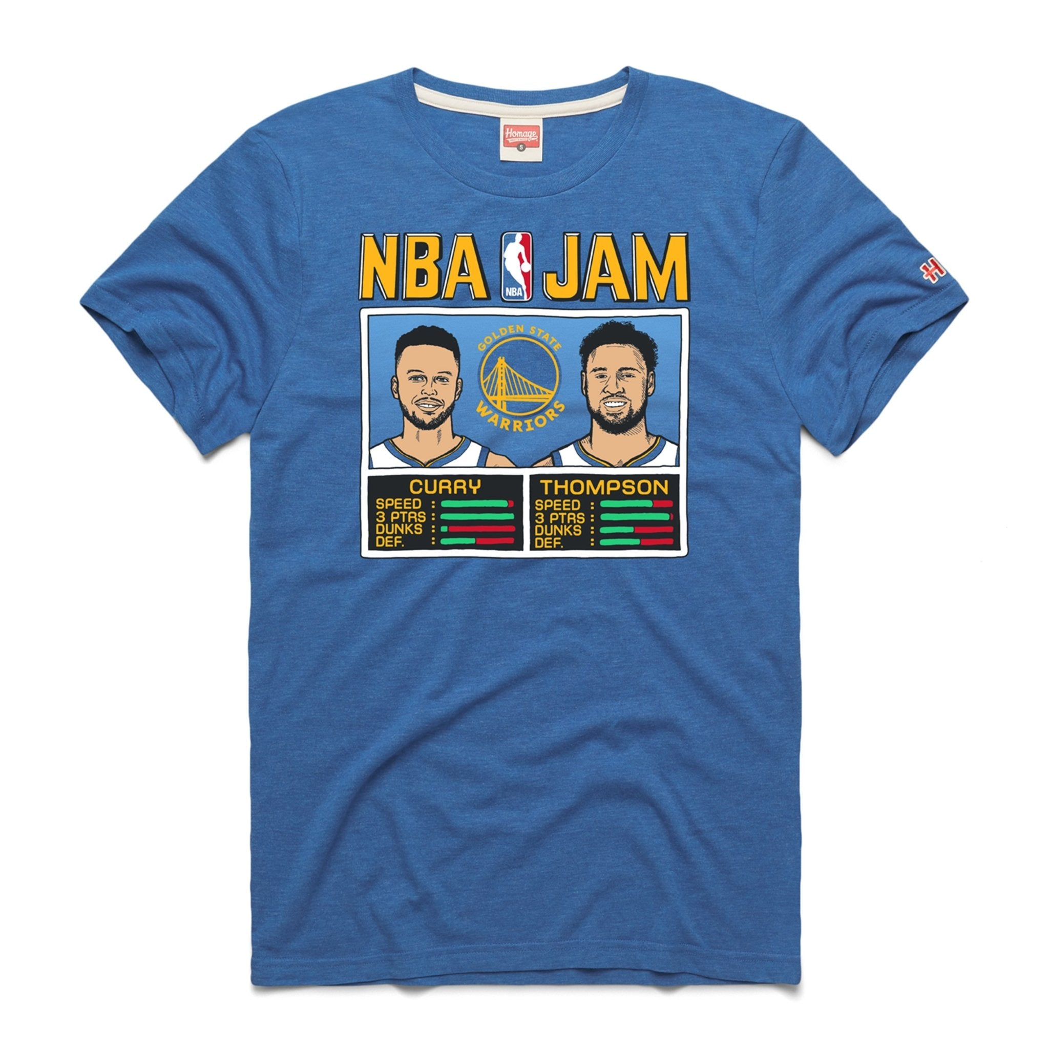 NBA Jam Golden State Warriors - Stephen Curry / Klay Thompson - SLAM