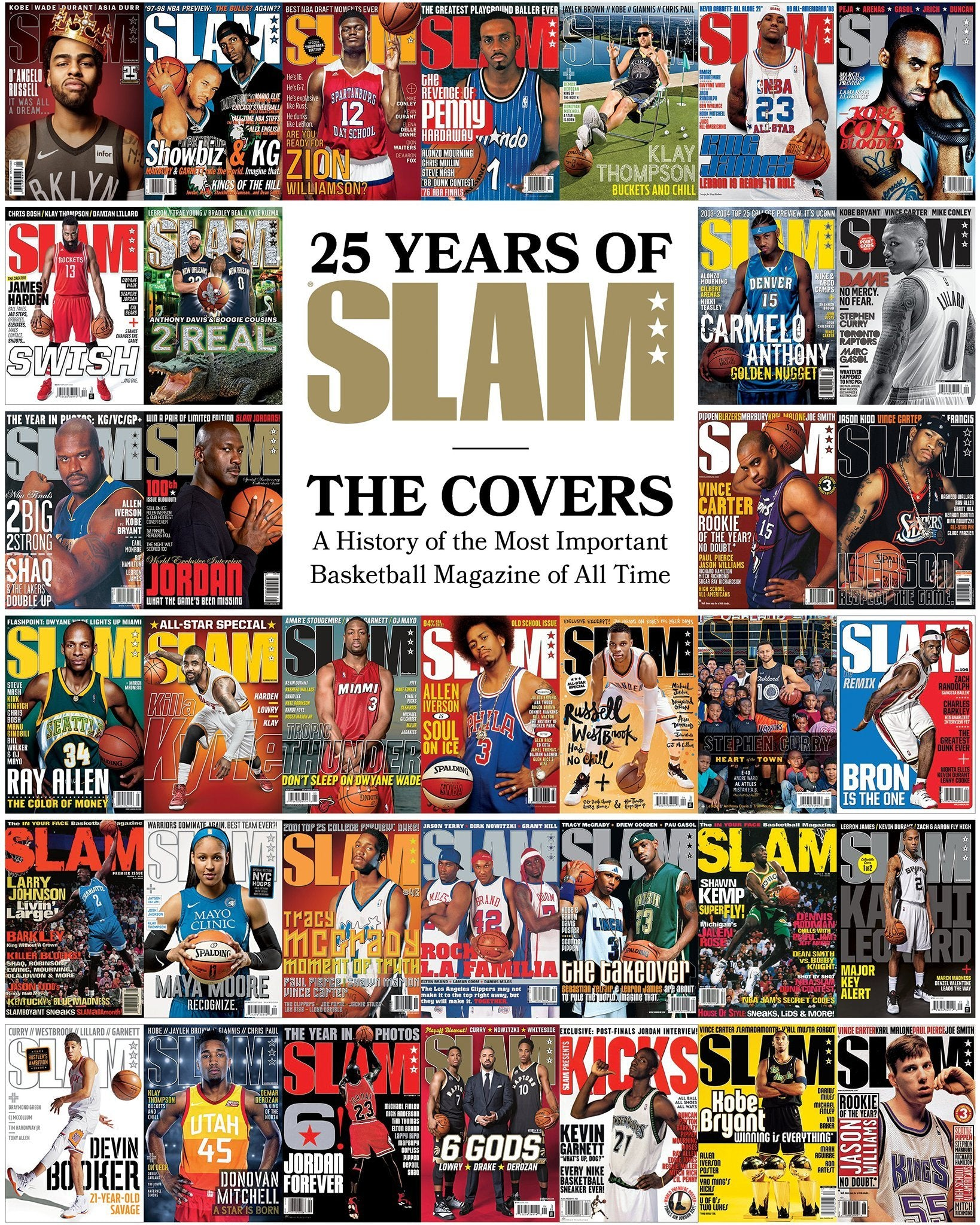 SLAM 25th Anniversary Cover Mag - SLAM