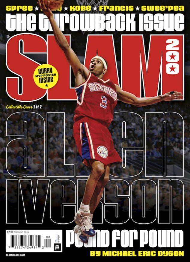 SLAM August 2016 (Allen Iverson-200) - SLAM