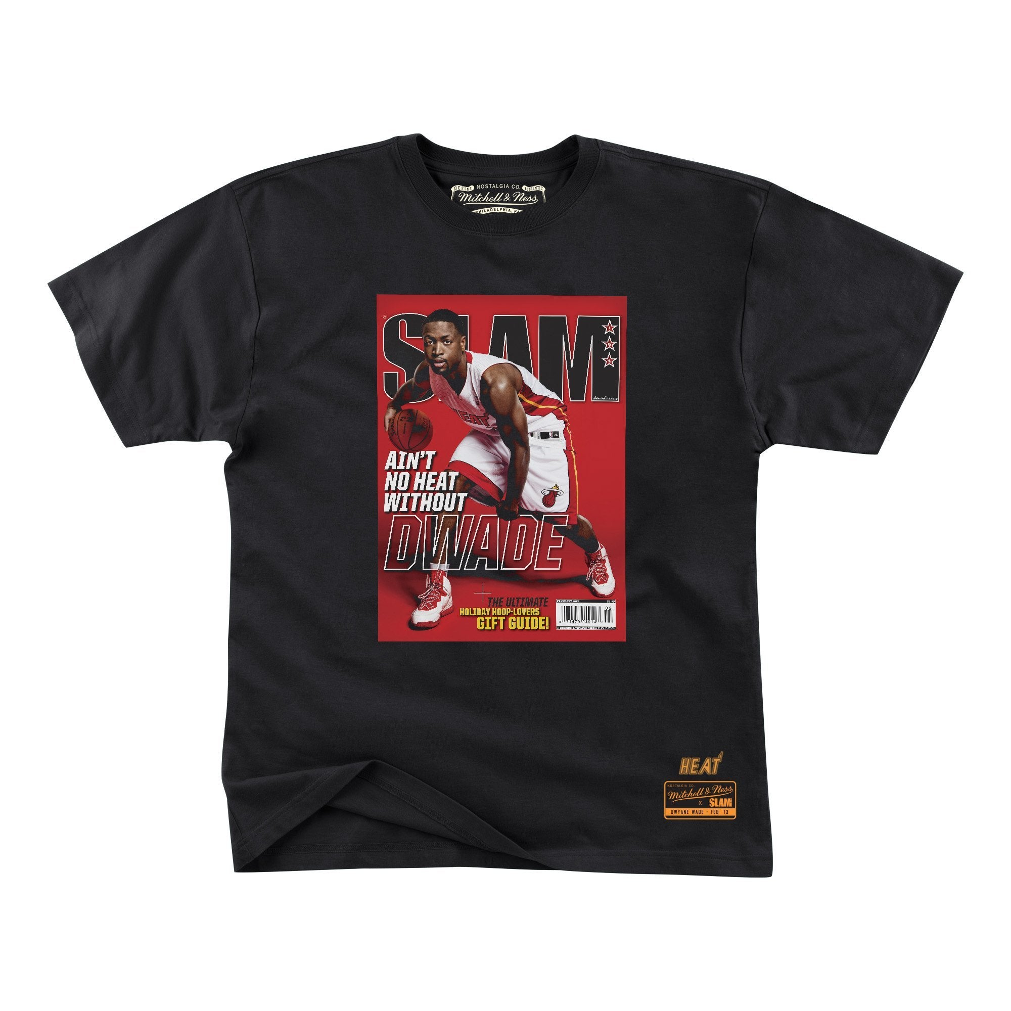 SLAM Cover Tee - Dwyane Wade - Ain't No Heat - SLAM