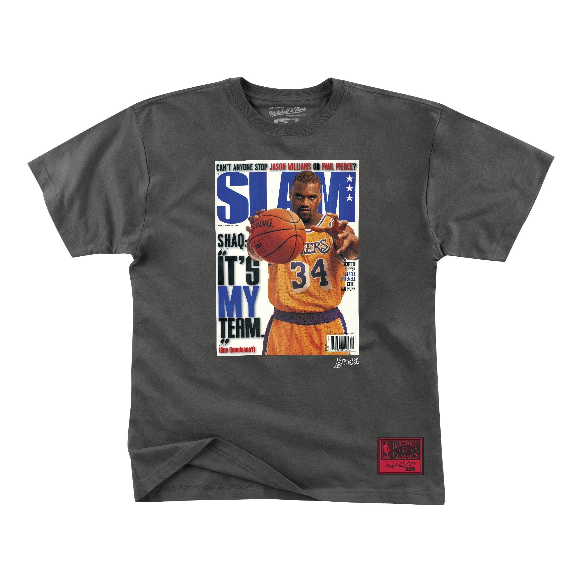 SLAM Cover Tee - It's MY Team (Shaq) - SLAM