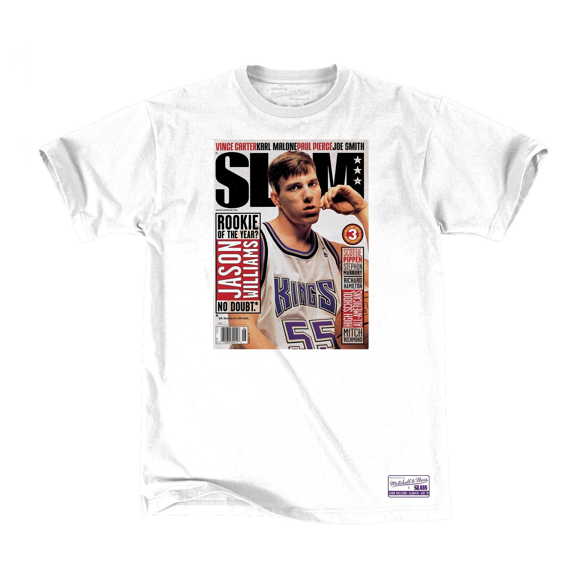 SLAM Cover Tee - Jason Williams - SLAM
